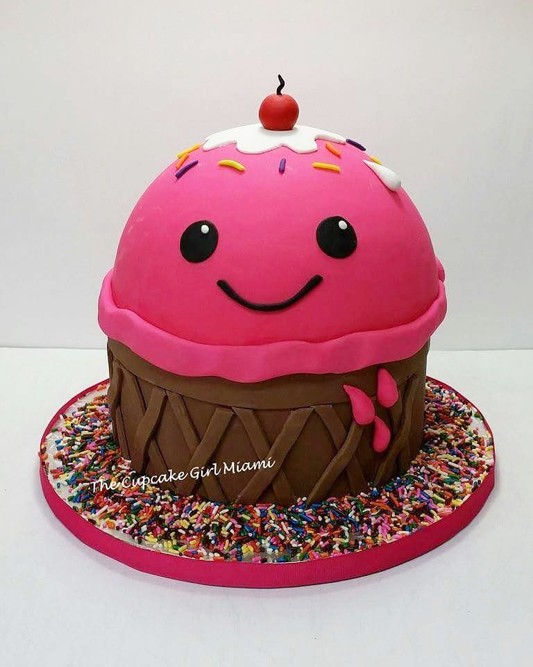 kawaii cake, Miami cakes