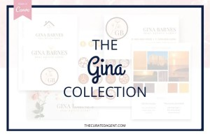 The Gina Collection - Real Estate Branding Bundle for Women