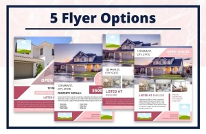 Real Estate Open House Packet - Editable Canva Template