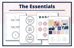 The Taylor Collection - The Essentials - Real Estate Branding Bundle for Women