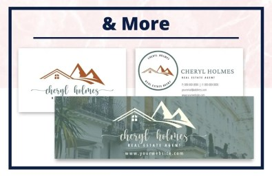 The Cheryl Collection - Business Card - Real Estate Branding Bundle for Women