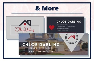 The Chloe Collection - Business Card - Real Estate Branding Bundle for Women