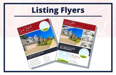 The Chloe Collection - Flyers - Real Estate Branding Bundle for Women