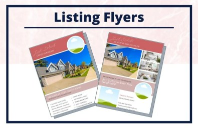 The Lauren Collection - Flyers - Real Estate Branding Bundle for Women