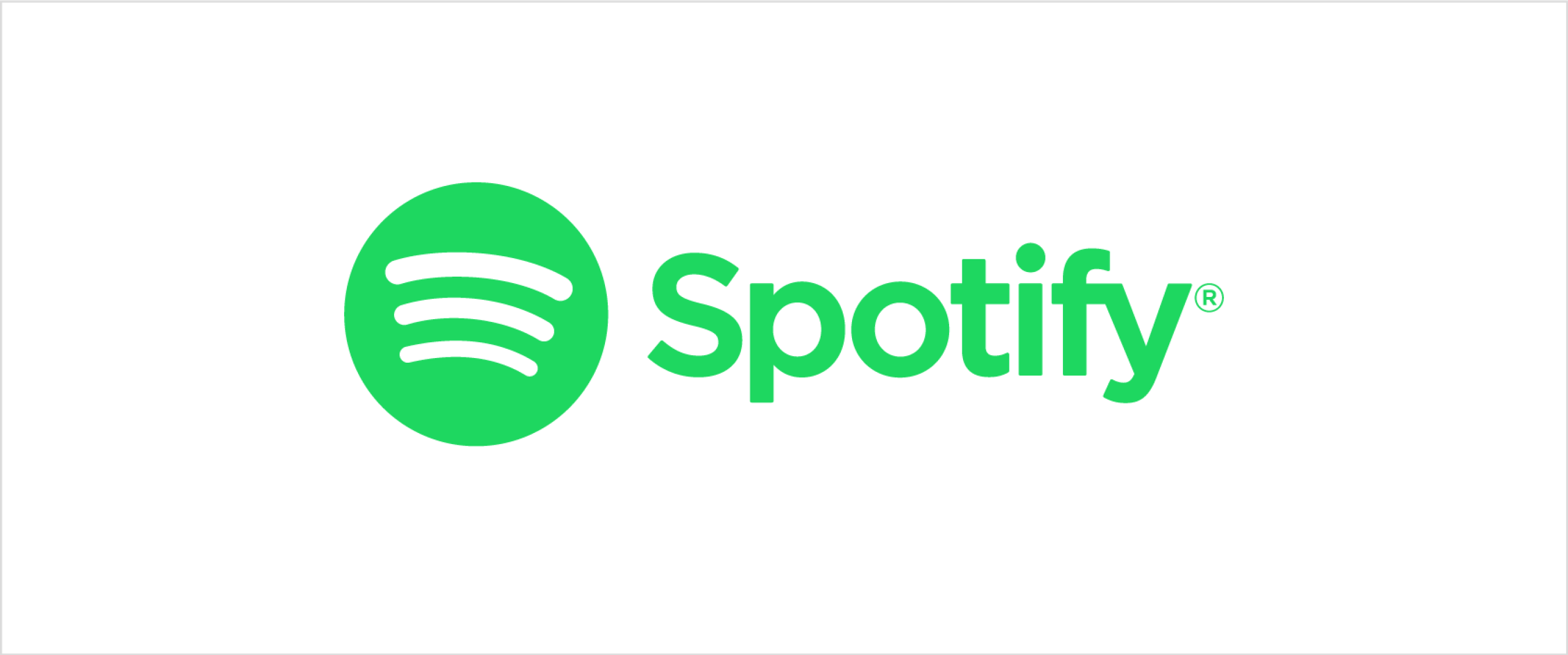 Clickable button for spotify