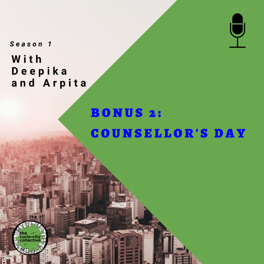 Cover page of the bonus episode: Counsellor's day