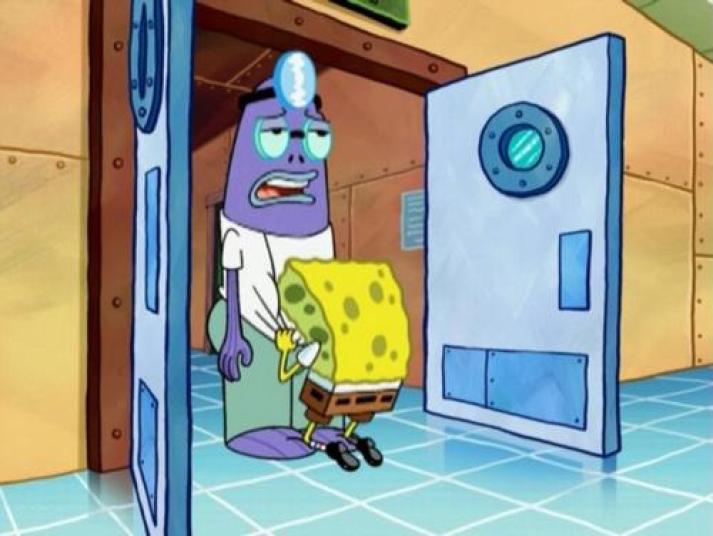 dirty spongebob