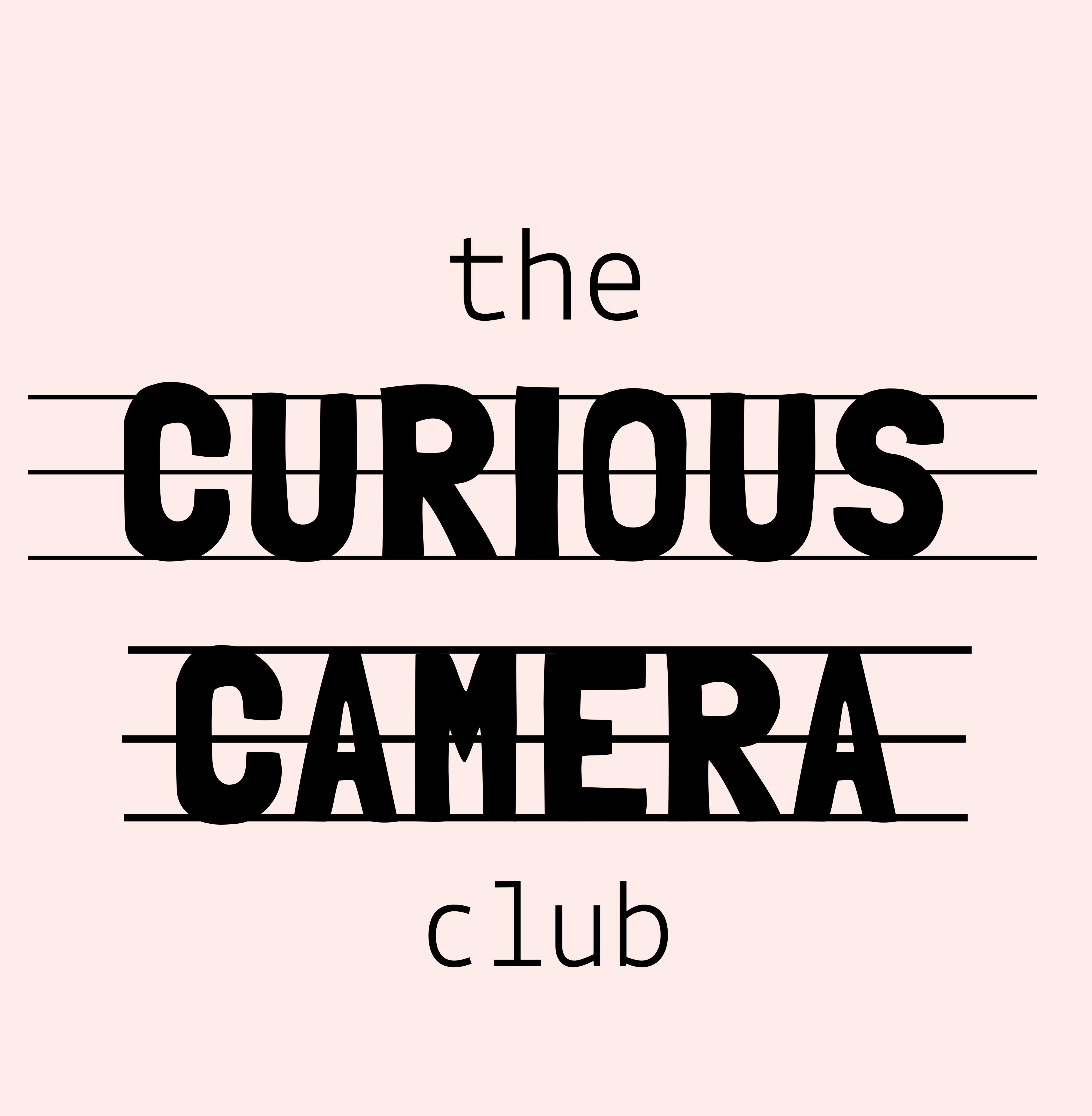 Logo of The Curious Camera Club