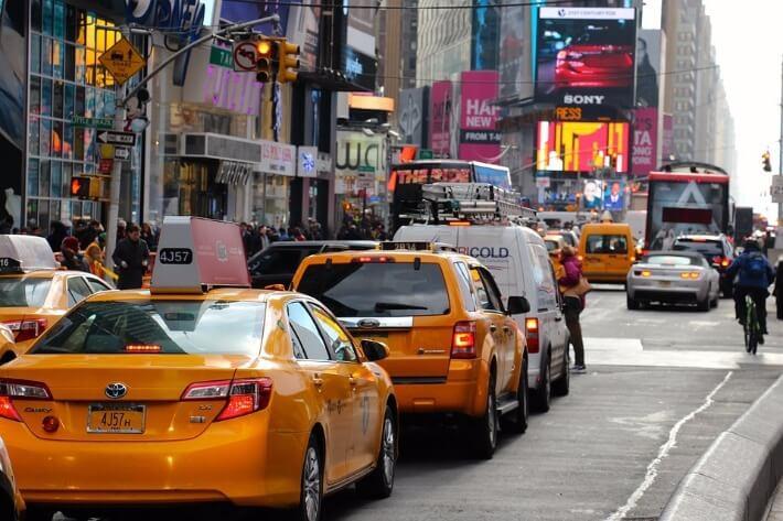 Travel Roundup Yellow Cab NYC
