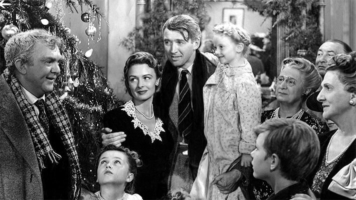 A Scene from It's A Wonderful Life