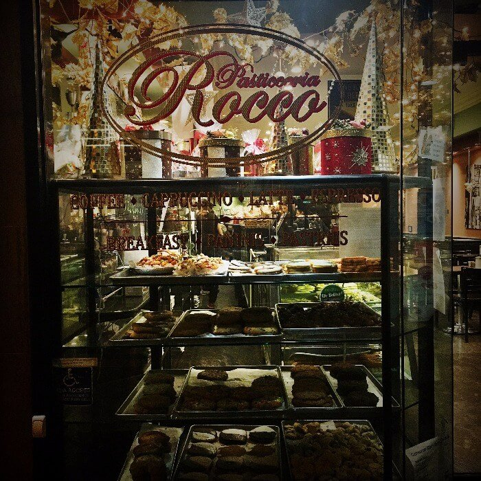 Store window of Rocco's