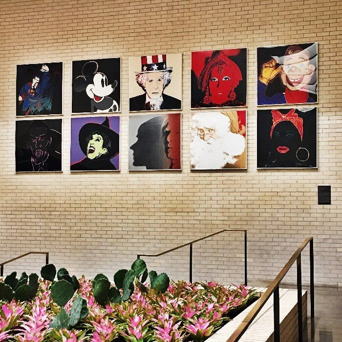 NorthPark Center Andy Warhol Myths Screen prints