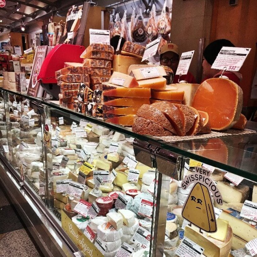 Grand Central Terminal Market Meat and Cheese Counter