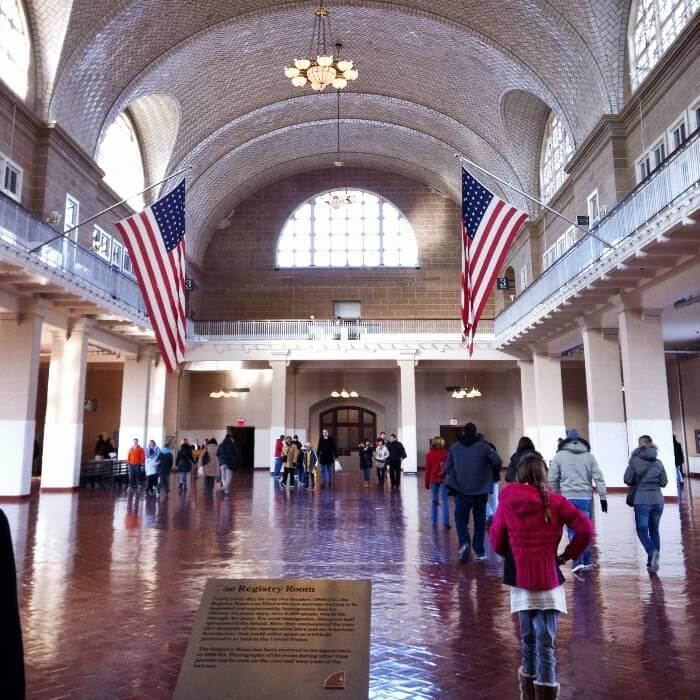 Ellis Island Grand Hall
