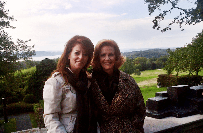 Kykuit American Castle Mary and Mom