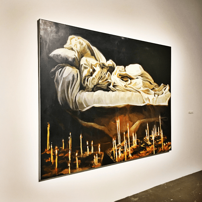 Must visit gallery Dallas Contemporary Art Gallery St. Theresa Painting