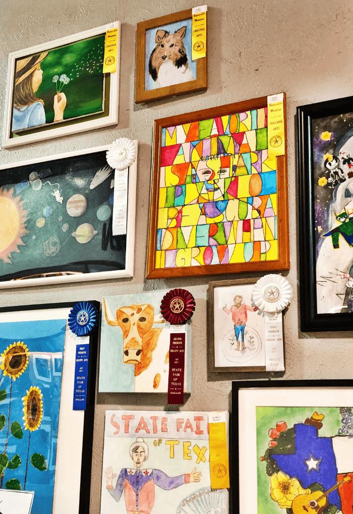 Ribbon Winners Painting Winners