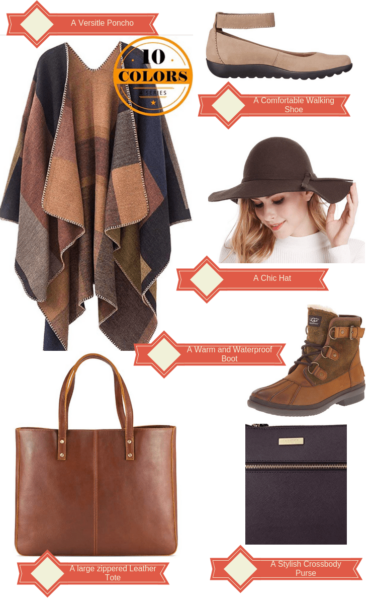 6 Fall Fashion Must-Haves for Travel Collage