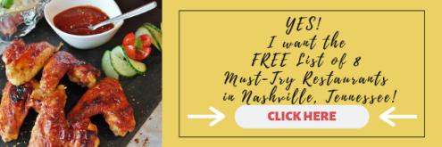 Nashville Restaurant List