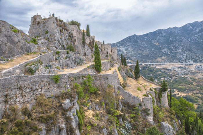 Game of Thrones Locations Klis Fortress, Croatia