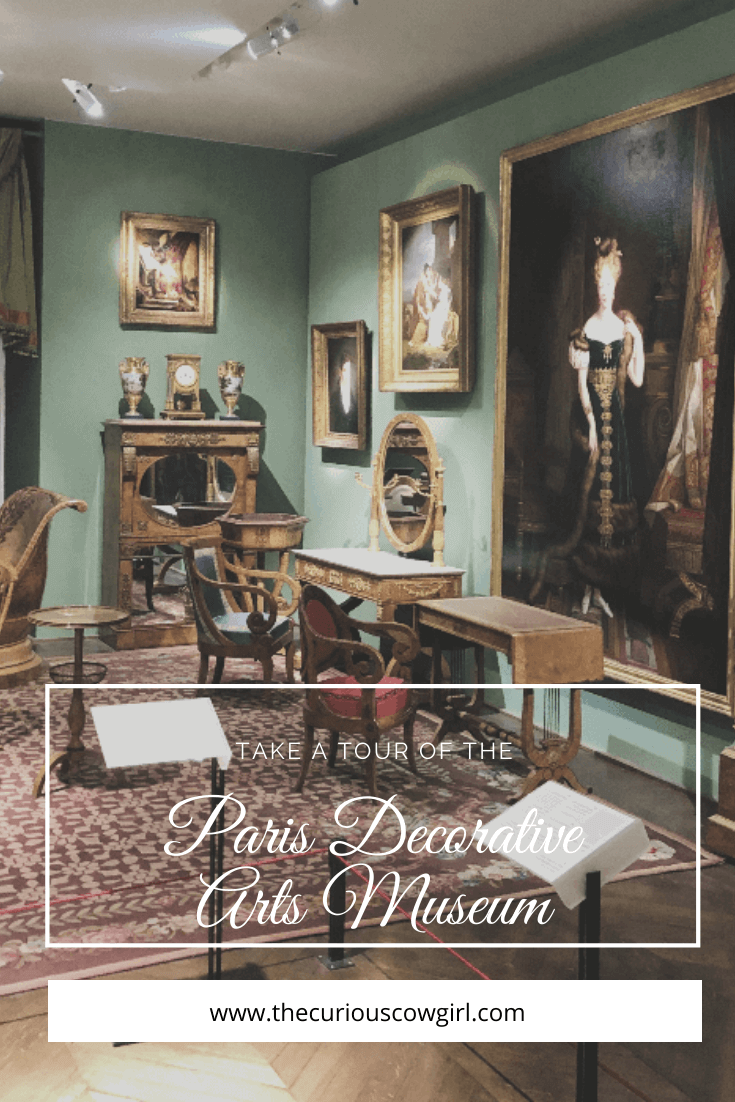 a room full of antiques with text overlay