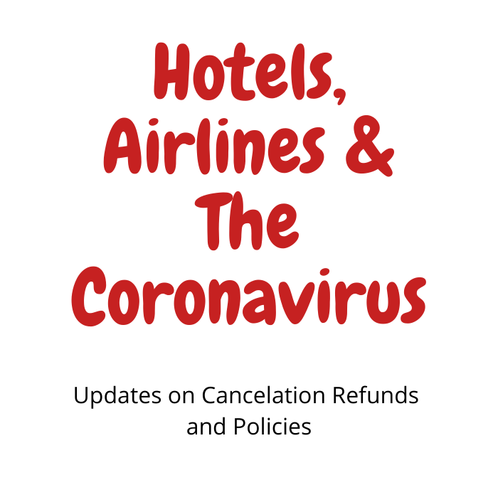 COVID-19 Airline and Hotel Responses