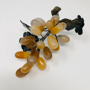Orange Quartz Grape Cluster
