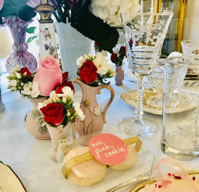 Valentines Day Table Decor
