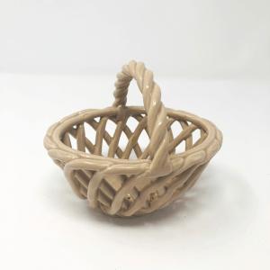 Ceramic Wicker Basket