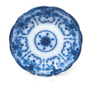 Large Flow Blue Bowl