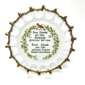 True Friends Plate