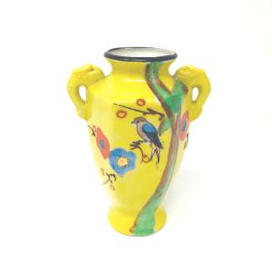 MIJ Yellow Bud Vase