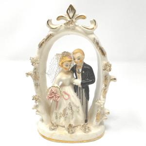 Porcelain Bride & Groom