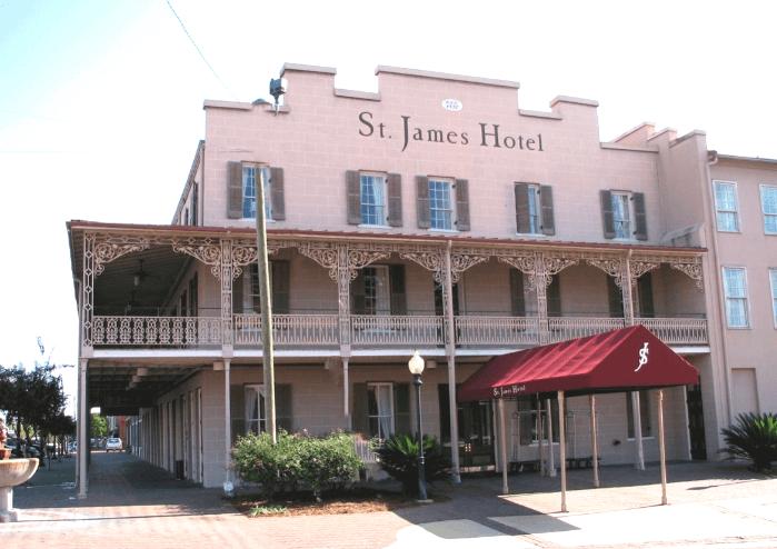 The Historic St. James Hotel in Selma Alabama
