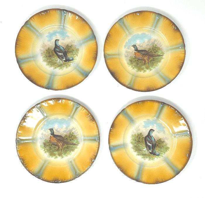 4 Game Bird Plates