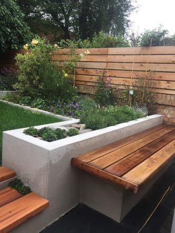 Garden design Crouch End, London