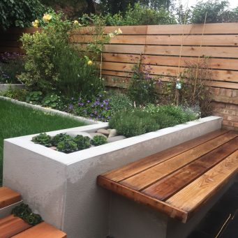 Garden design Crouch End, London