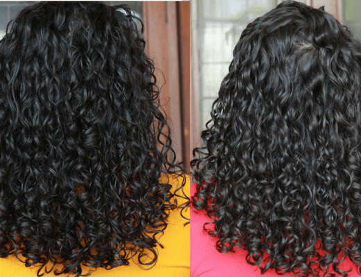 Curly Hair Pattern