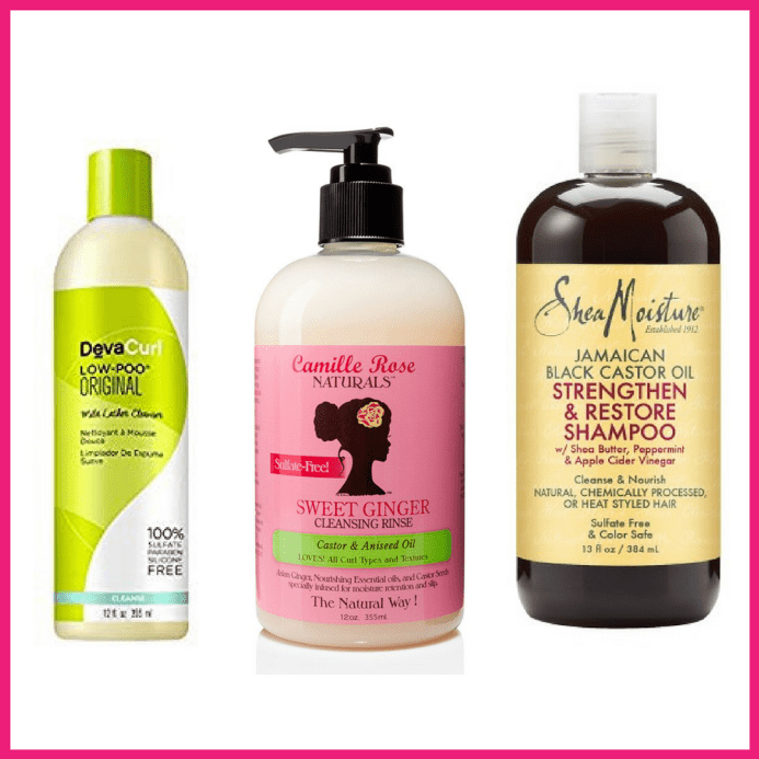 Shampoos for curly hair