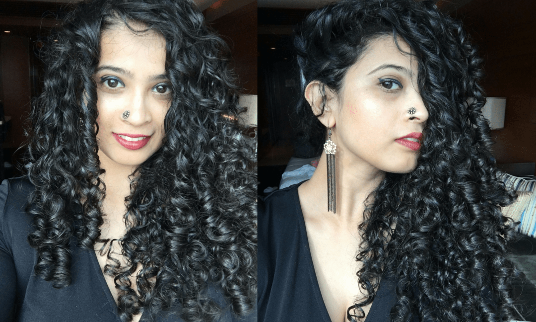 Deep Conditioning Curly Hair