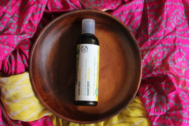 The Bodyshop Rainforest Moisture Shampoo For Dry Hair Review