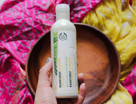The Bodyshop Rainforest Moisture Conditioner For Dry Hair Review