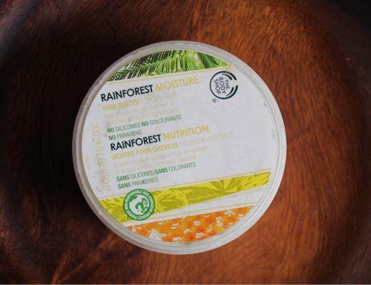 The Bodyshop Rainforest Moisture Hair Butter Review
