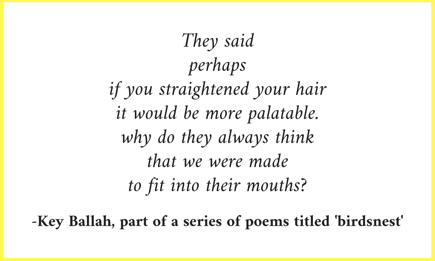 Curly Hair Quote The Curious Jalebi
