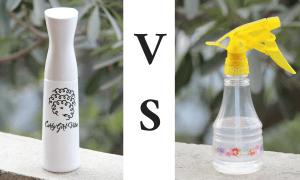 Flairosol Versus Spray Bottle