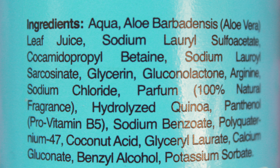 Curly Ellie Shampoo Ingredients