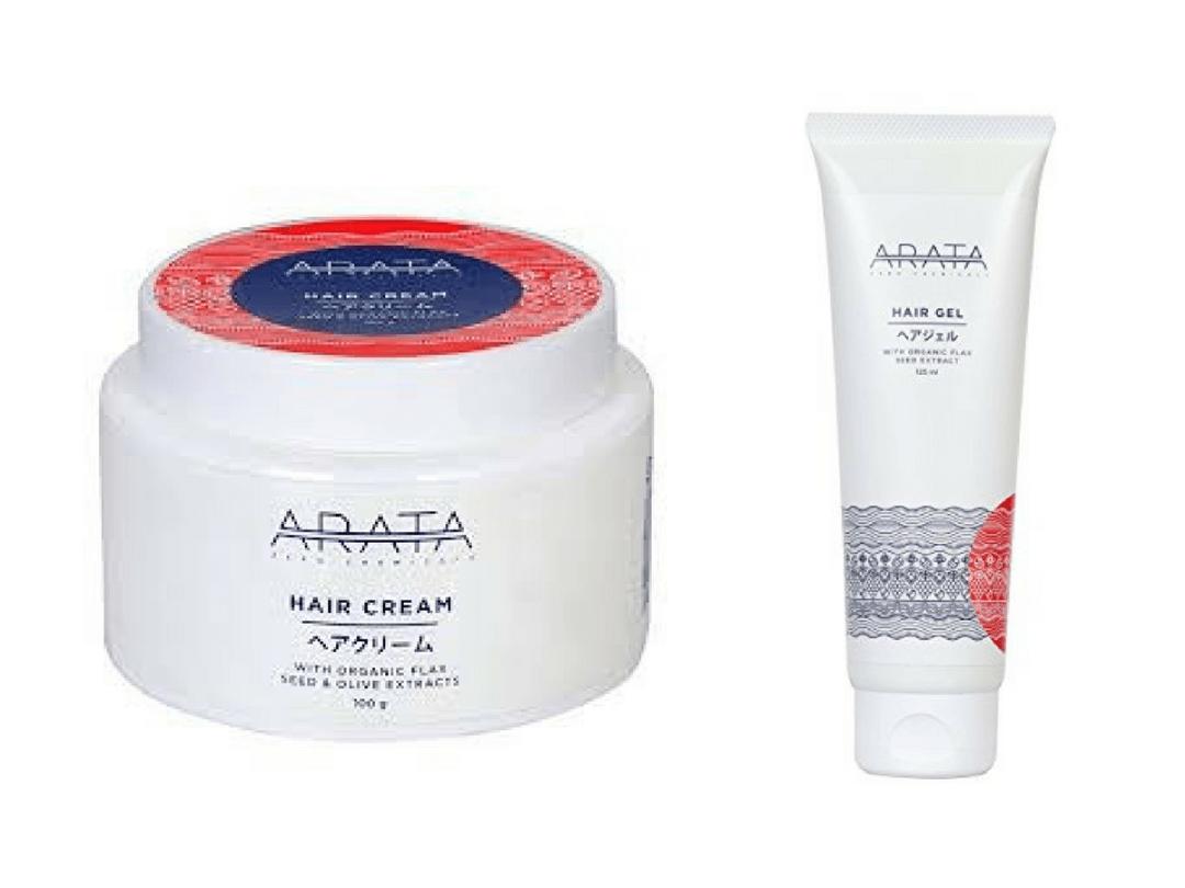 Arata Hair Cream & Hair Gel