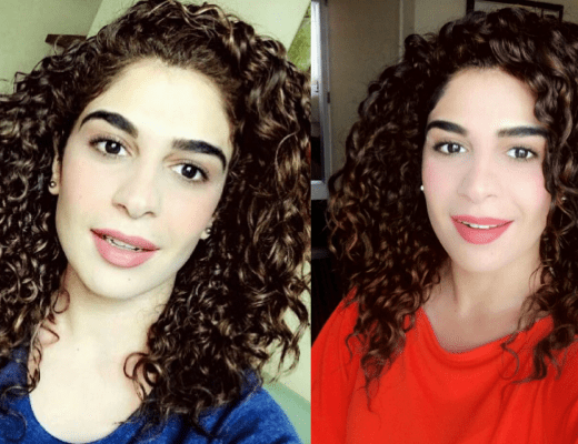 Komal Malik Curly Hair Routine