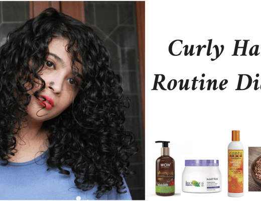 Curly Hair Routine Diary Series 2