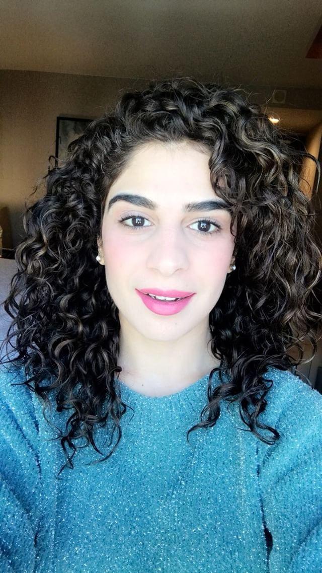 Komal Malik Curly Hair